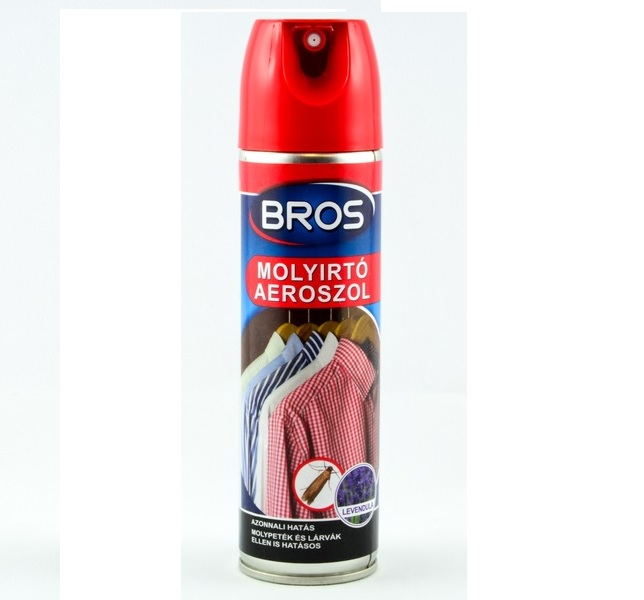 Bros molyírtó ruhamoly spray 150ml