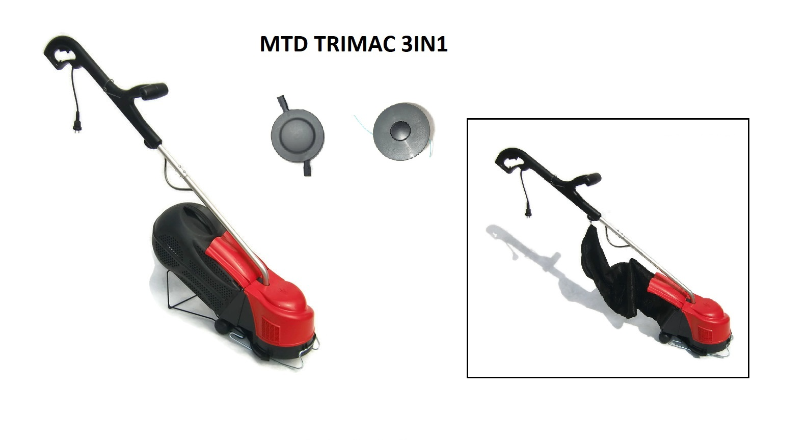 MTD-Trim Vac 3-in-1